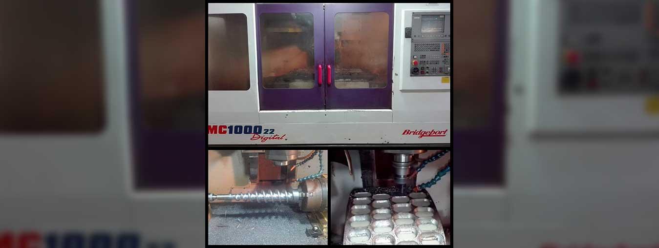 خدمات فرزکاری CNC با دستگاه چهار محور همزمان